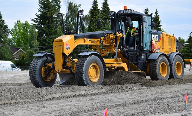 Site Grading and Road Construction in Vancouver area, Greater GVRD